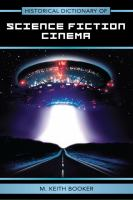Imagen de portada para Historical dictionary of science fiction cinema