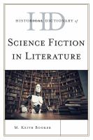 Cover image for Historical dictionary of science fiction in literature