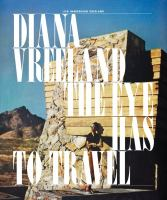 Cover image for Diana Vreeland : the eye has to travel