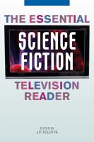 Cover image for The essential science fiction television reader