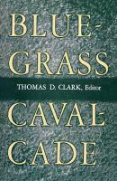 Cover image for Bluegrass cavalcade