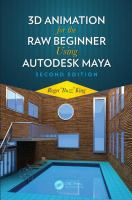 Cover image for 3D animation for the raw beginner using Autodesk Maya