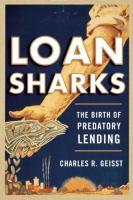 Cover image for Loan sharks  the birth of predatory lending