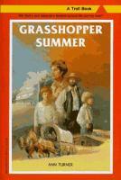 Cover image for Grasshopper summer