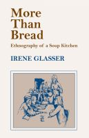 Cover image for More than bread ethnography of a soup kitchen