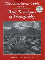 Cover image for The Ansel Adams guide : basic techniques of photography