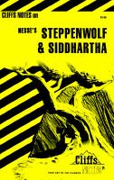 Cover image for Steppenwolf & Siddhartha : notes, including life and background ...