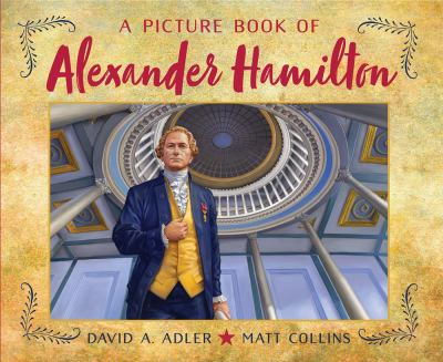 Cover image for A picture book of Alexander Hamilton