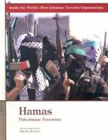 Cover image for Hamas : Palestinian terrorists