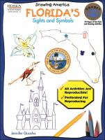Cover image for How to draw Florida's sights and symbols