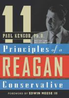 Cover image for 11 principles of a Reagan conservative