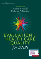 Cover image for Evaluation of health care quality for DNPs