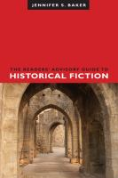 Cover image for The readers' advisory guide to historical fiction