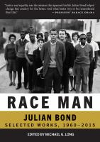 Cover image for Race Man : Selected Works, 1960-2015