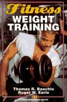 Cover image for Fitness weight training