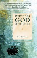 Cover image for Why does God let it happen?