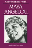 Cover image for Conversations with Maya Angelou