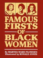 Cover image for Famous firsts of black women