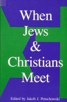 Imagen de portada para When Jews and Christians meet