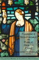 Cover image for Florence Nightingale on public health care