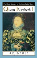 Cover image for Queen Elizabeth I