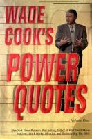 Imagen de portada para Wade Cook's power quotes