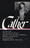 Cover image for Later novels