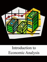 Cover image for Introduction to economic analysis.