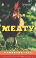 Cover image for Meaty : essays