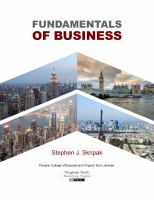 Cover image for Fundamentals of business
