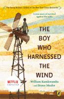 Cover image for The boy who harnessed the wind young readers edition.