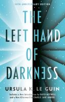 Cover image for The left hand of darkness