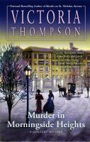 Cover image for Murder in Morningside Heights