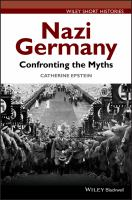 Cover image for Nazi Germany  confronting the myths