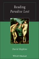 Cover image for Reading Paradise lost