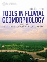 Cover image for Tools in fluvial geomorphology