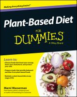Cover image for Plant-based diet for dummies