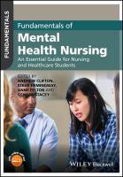 Imagen de portada para Fundamentals of mental health nursing : an essential guide for nursing and healthcare students