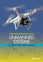 Cover image for Operations research for unmanned systems