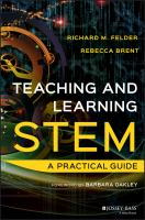 Cover image for Teaching and learning STEM  a practical guide