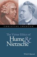 Cover image for The virtue ethics of Hume and Nietzsche
