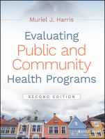Cover image for Evaluating public and community health programs