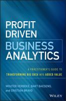 Cover image for Profit drive business analytics  a practitioner's guide to transforming big data into added value