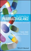 Cover image for An introduction to pharmacovigilance