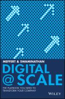Cover image for Digital @ scale  how you can lead your business to the future with digital@scale