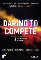 Cover image for Daring to compete accelerate your business to market leadership with EY's 7 Drivers of Growth
