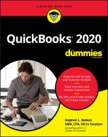 Cover image for QuickBooks 2020 for dummies
