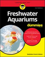 Cover image for Freshwater aquariums