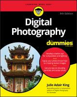 Cover image for Digital photography for dummies