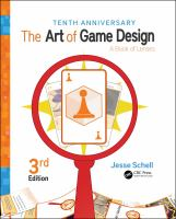 Cover image for The art of game design : a book of lenses